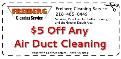 Furnace Duct Cleaning Coupon